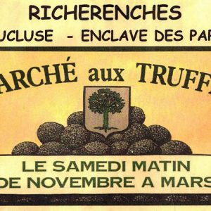 Richerenches truffle market
