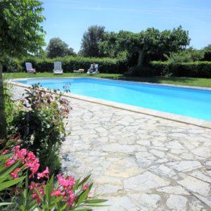 La piscine de Font-Peyrins