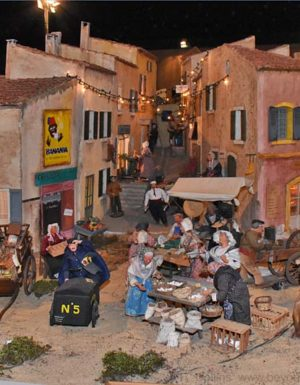 Village Provençal Miniature à Grignan